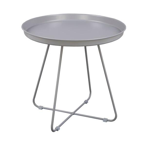 Šedý odkládací stolek Nørdifra El