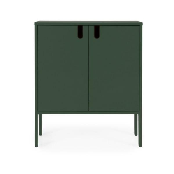 Dulap Tenzo Uno, lățime 80 cm, verde închis