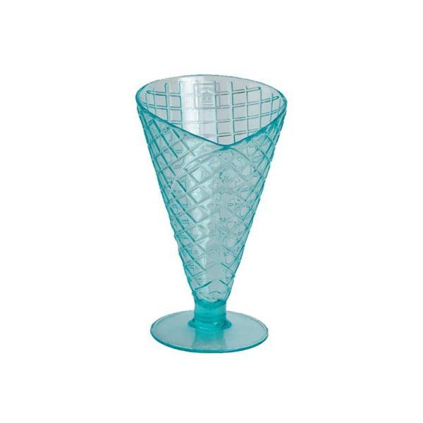 Zmrzlinový pohár Sundae Cone Aqua