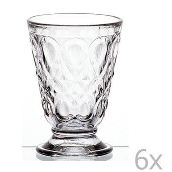 Set 6 pahare transparente cu picior Lyonnais, 200 ml de la La Rochére