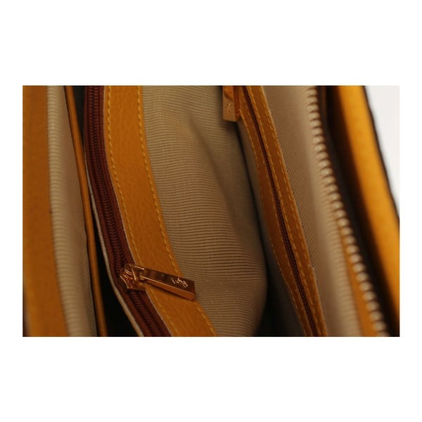 Kabelka Beverly Hills Polo Club Mustard Brown