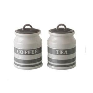 Sada 2 dózy na kávu a čaj Unimasa Urban