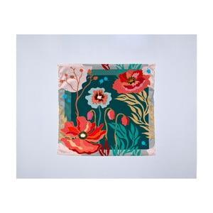 Módní šátek Madre Selva Logoom Garden, 55x55cm