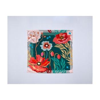 Eșarfă damă Madre Selva Logoom Garden, 55 x 55 cm de la Madre Selva