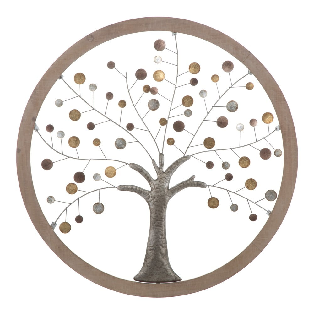 Nástěnná dekorace Mauro Ferretti Tree of Life, ø80cm
