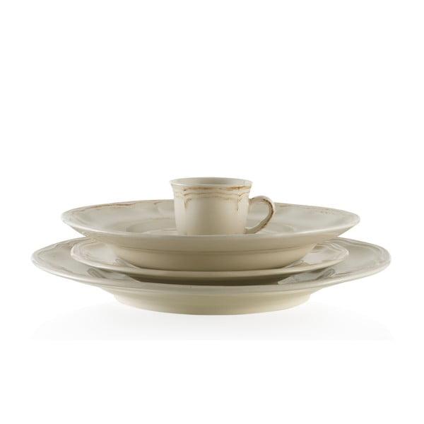 Jídelní keramický set Melange Cream