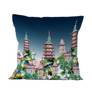 Povlak na polštář z čisté bavlny Happy Friday Temple,60x60cm