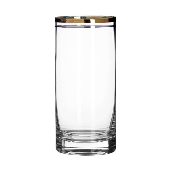 Zestaw 4 szklanek ze szkła dmuchanego ręcznie Premier Housewares Charleston, 475 ml