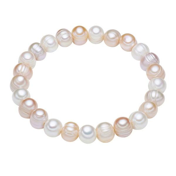 Perlový náramok Chakra Pearls Furrow, 19 cm