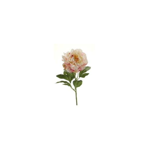 Umělá květina Pivoňka, nafialovělá