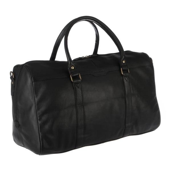 Kožená pánská taška Global Black