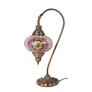 Skleněná lampa Fishing II, 17 cm