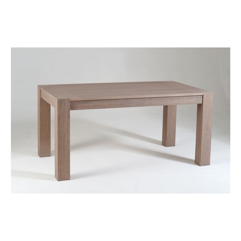 Dřevěný rozkládací jídelní stůl Castagnetti Oak, 160 cm