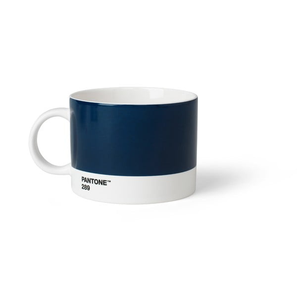 Ciemnoniebieski kubek na herbatę Pantone, 475 ml