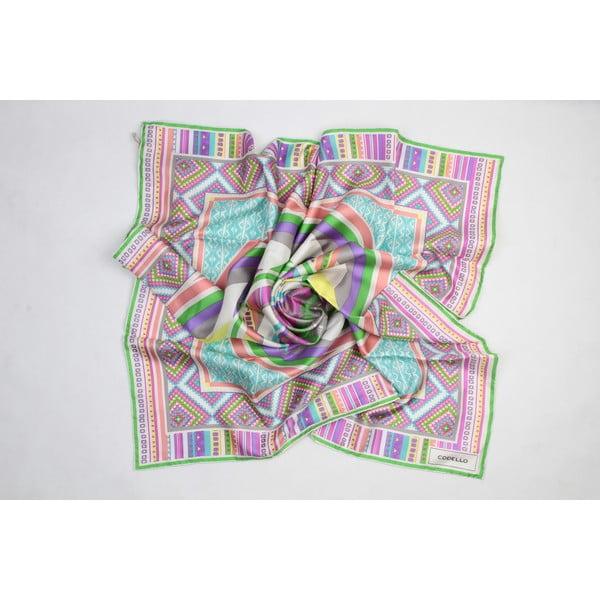 Hedvábný šátek Etno Motives