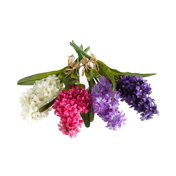 Zestaw 4 dekoracyjnych kwiatów Unimasa Bouquet