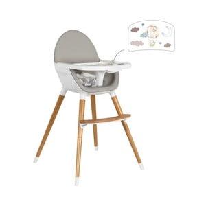 Dětská polohovací jídelní židle Tanuki NUUK Oso Globo