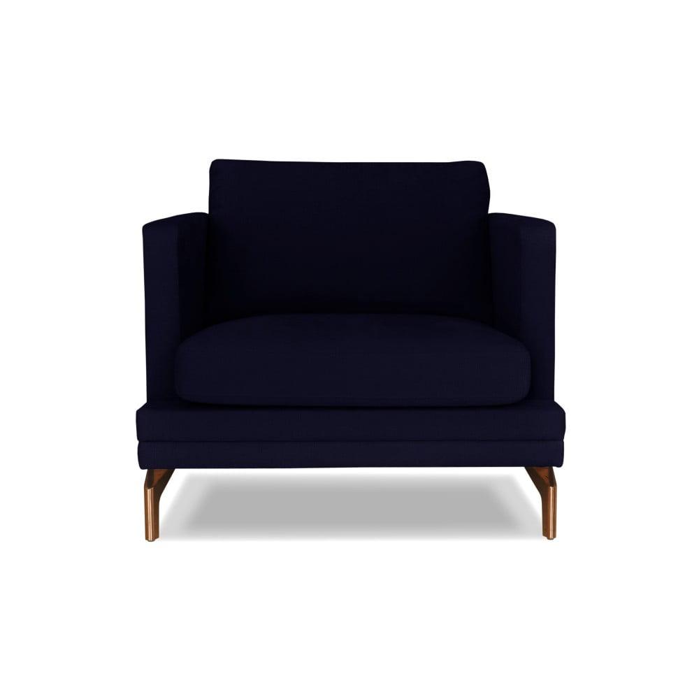 Tmavě modré křeslo Windsor & Co. Sofas Jupiter