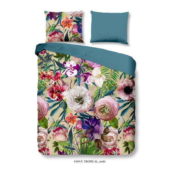 Bavlnené obliečky Good Morning Tropical, 140 × 200 cm