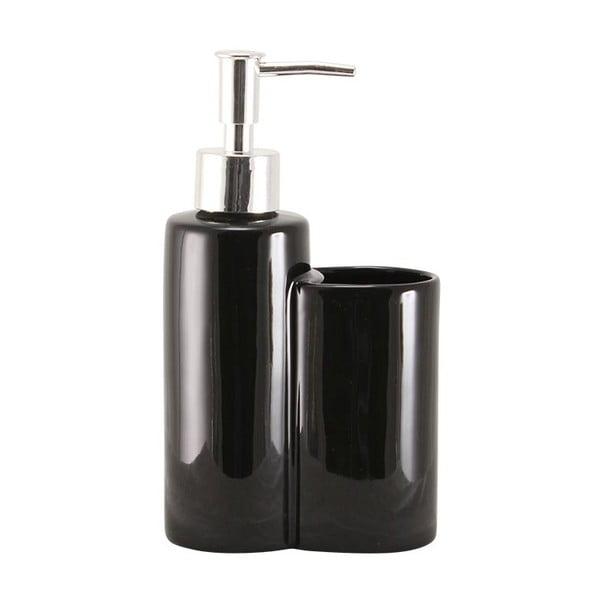 Dávkovač na mýdlo s dózou Majken Black