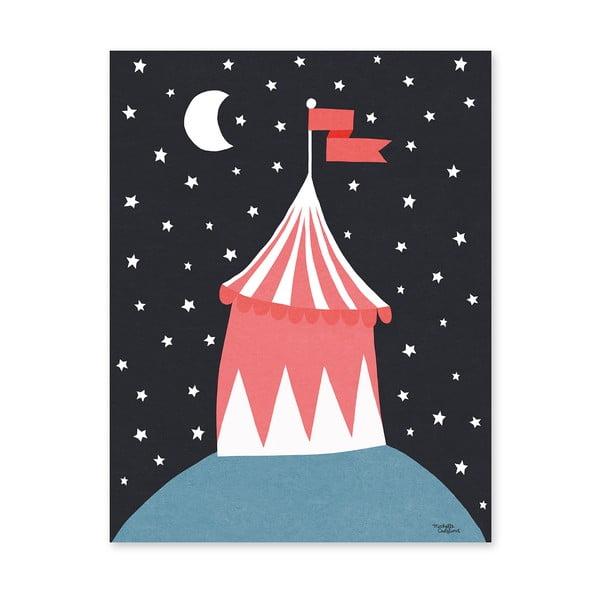 Plakát Michelle Carlslund Circus Tent, 30x40cm