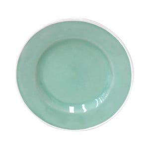Světle zelený keramický talířek Costa Nova Astoria, ⌀15cm