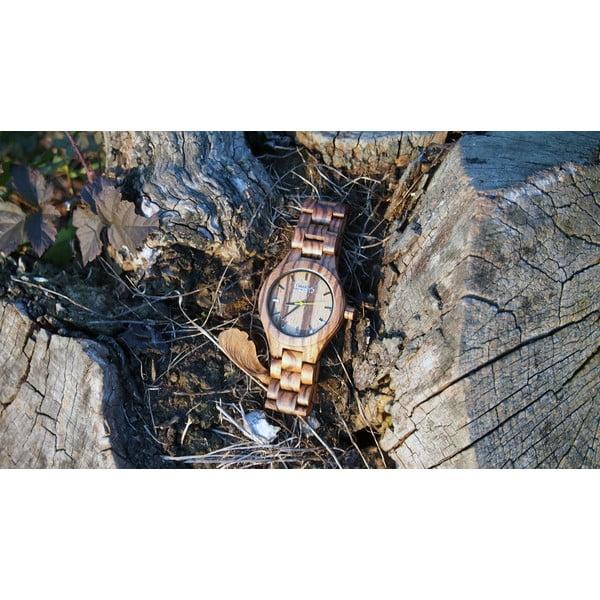 Dřevěné hodinky TIMEWOOD Zebrus
