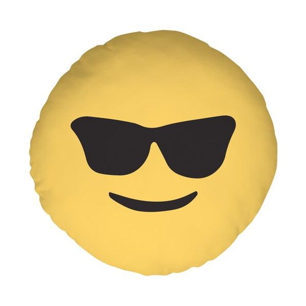 Polštář Emoji Glasses, 39 cm
