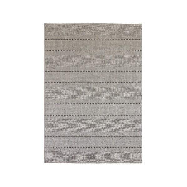 Koberec vhodný i do exteriéru Patio Beige Stripe, 200x290 cm