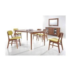Jídelní stůl v dekoru ořechového dřeva Signal Impressio, délka160cm