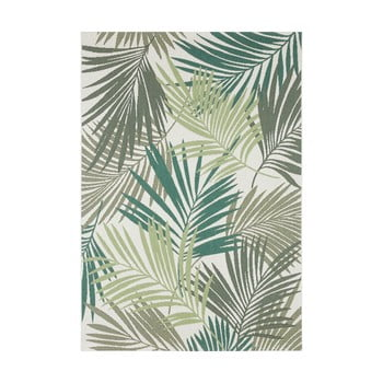 Covor potrivit pentru exterior Bougari Vai, 80 x 150 cm, verde - gri poza