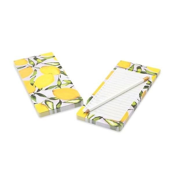 Žlutý poznámkový blok GO Stationery Lemons