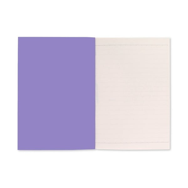 Fialový zápisník A5 GO Stationery Lilacs