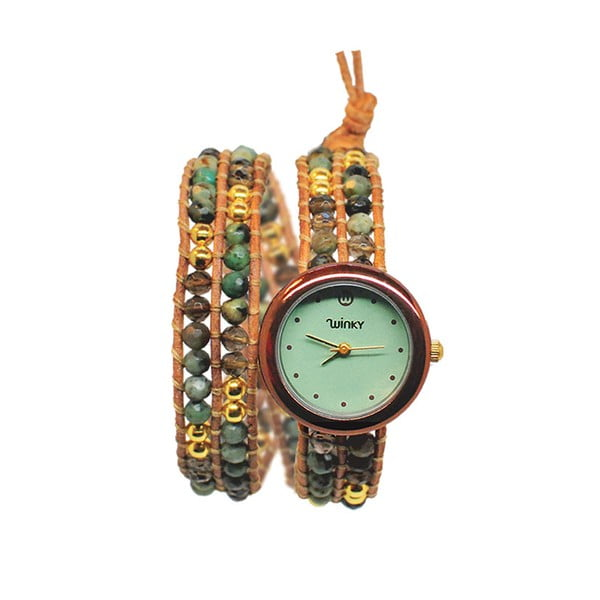Korálkové hodinky Double, Carribean Seabreeze