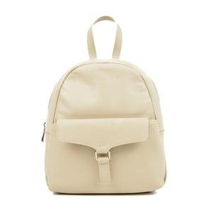 Béžový kožený batoh Isabella Rhea Mille