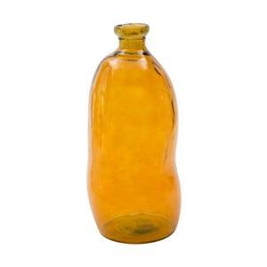 Ornžová váza z recyklovaného skla Mauro Ferretti Bot, výška73cm