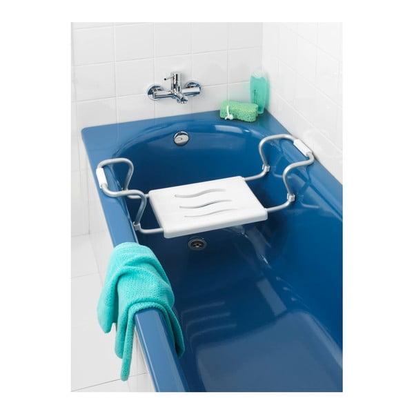 Bezpečnostní sedátko do vany s nastavitelnou šířkou Wenko Secura, 26 x 18 cm