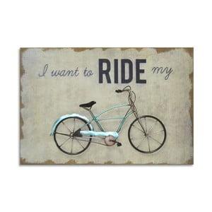 Obraz Green Bike, 60x40 cm