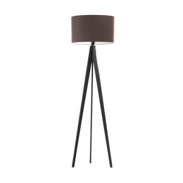 Stojací lampa Artist Dark Taupe/Black, 125x42 cm