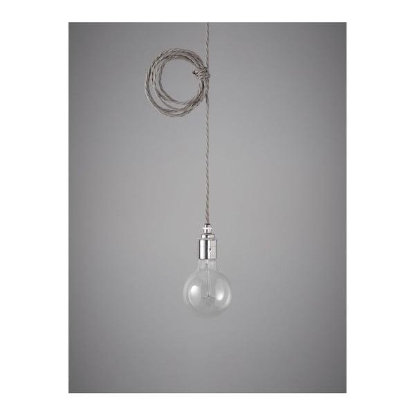 Závěsný kabel Chrome Skirt Elephant Grey