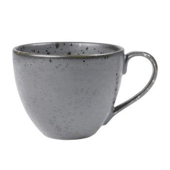 Ceașcă din gresie ceramică Bitz Mensa, 460 ml, gri