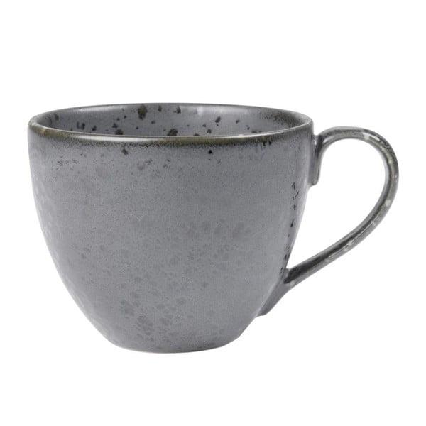 Mensa szürke agyagkerámia teáscsésze, 460 ml - Bitz