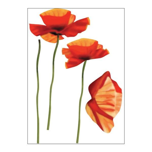 Samolepka Poppies