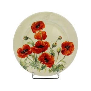 Keramický talíř Duo Gift Poppy, ø 20,5 cm