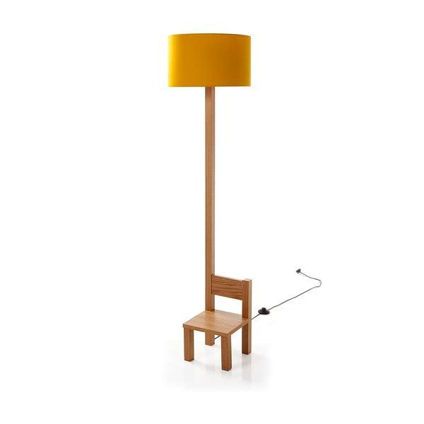 Stojací lampa Toraki Mustard