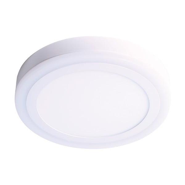 Biała okrągła lampa sufitowa SULION Twis, ø 22 cm