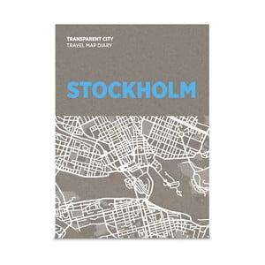 Mapa na popisky Palomar Transparent City Stockholm