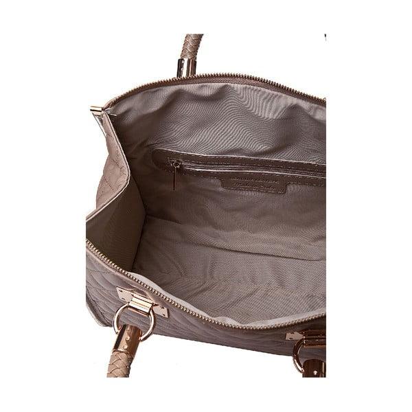 Kožená kabelka Giorgio Costa 15020 Taupe