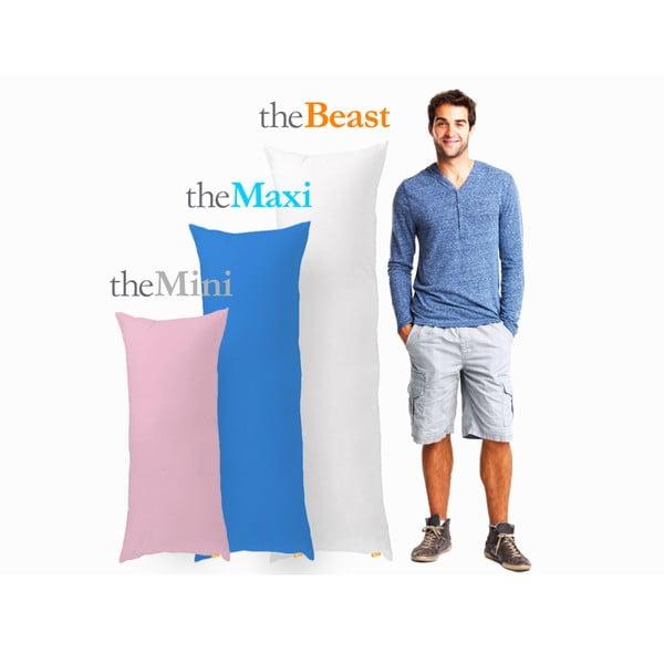 Polštář The Mini, šedý, vhodný pro osoby do 160 cm