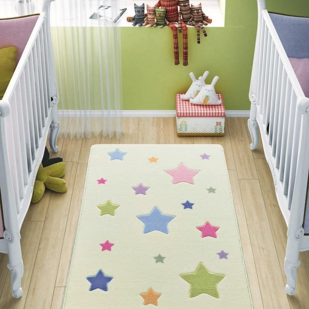 Dětský koberec Baby Stars, 100 x 150 cm